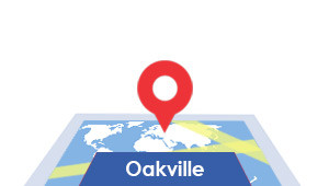 Windshield-Repair-Oakville-map