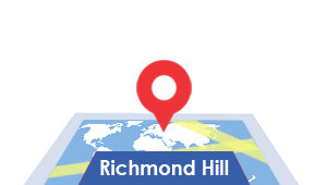 Windshield-Repair-Richmond-Hill-map