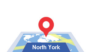 Windshield-Repair-North-York-map