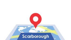 Windshield-Repair-Scarborough-map