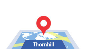 Windshield-Repair-Thornhill-map