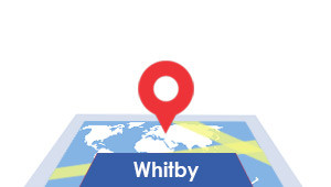 Windshield-Repair-Whitby-map