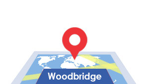 Windshield-Repair-Woodbridge-map